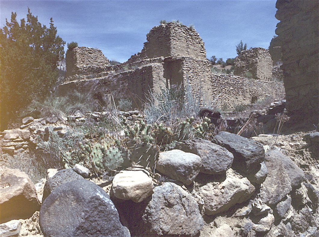 Ruins at Jemez National Park