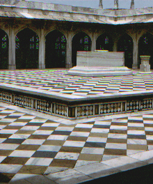 Replica of Akbar's tomb