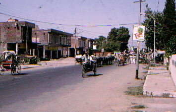 View of an Amritsar Street